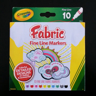 Fine Tip Fabric Markers - I'm A Craftaholic