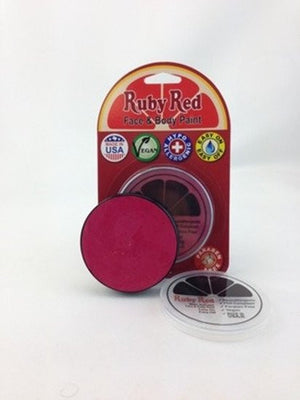 Professional Vegan Ruby Red Face Paint - Fuchsia