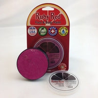 Professional Vegan Ruby Red Face Paint- Rose