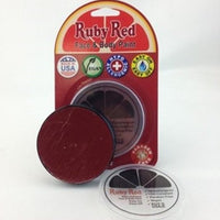 Professional Vegan Ruby Red Face Paint - Burgundy