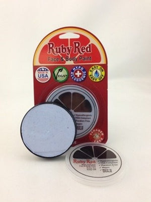 Professional Vegan Ruby Red Face Paint - Ice