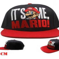 "Super Mario ""Its Me Mario ""Baseball Cap Hat"