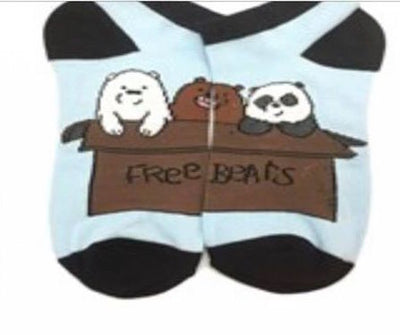 We Bare Bears Character Socks