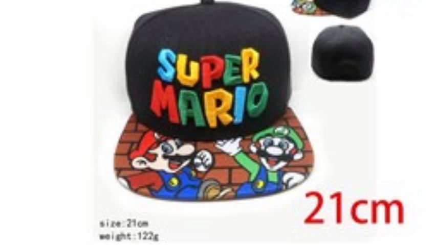 Super Mario Baseball Cap Hat