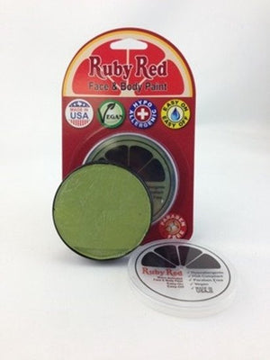 Professional Vegan Ruby Red Face Paint - Avocado