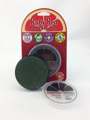 Professional Vegan Ruby Red Face Paint - Forest
