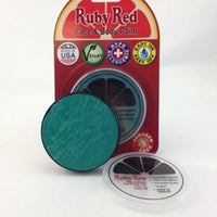 Professional Vegan Ruby Red Face Paint - Teal