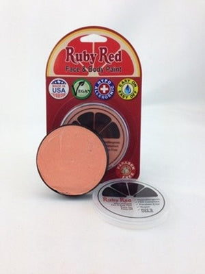 Professional Vegan Ruby Red Face Paint - Apricot