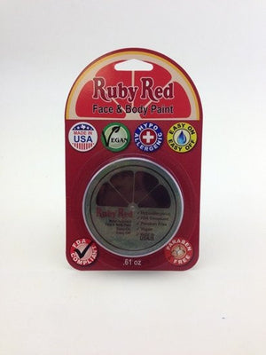 UV Ruby Red Professional Face paint - Green