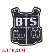 BTS Fan Cloth Patches - BTS Army