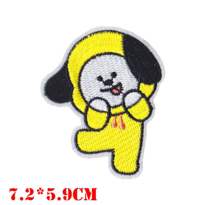 BTS Fan Cloth Patches - Chimmy