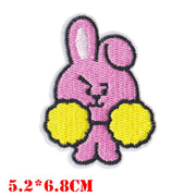 BTS Fan Cloth Patches - Cooky