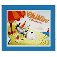 Frozen Olaf Summer Panel Cotton Fabric