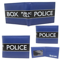 Character Wallets- Doctor Who Police Box