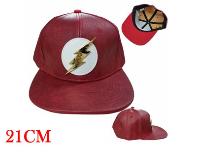 PU Leather Flash Baseball Cap
