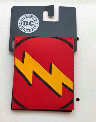 Character Wallet - DC Comic Flash Emblem