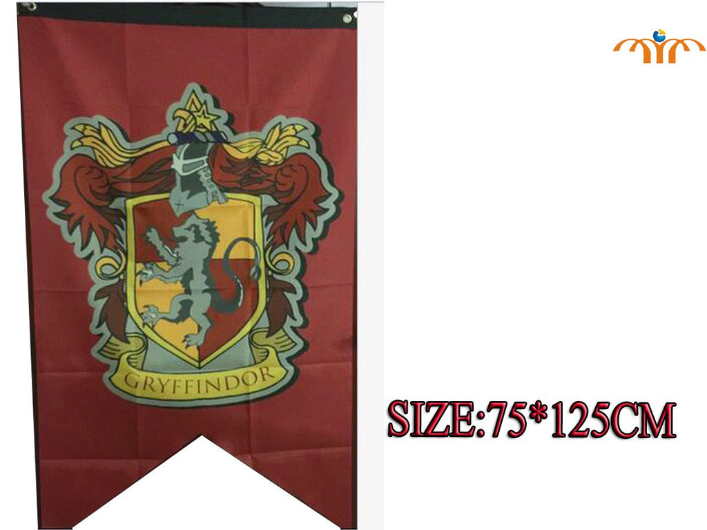 Harry Potter Hogwarts House Banner Flags