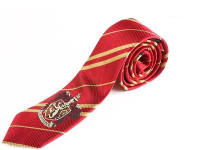 Harry Potter Hogwarts House Ties (4 Types) - Gryffindor, Hufflepuff, Slytherin a - I'm A Craftaholic - 1
