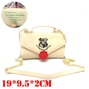 Harry Potter Letter To Hogwarts Clutch Handbag