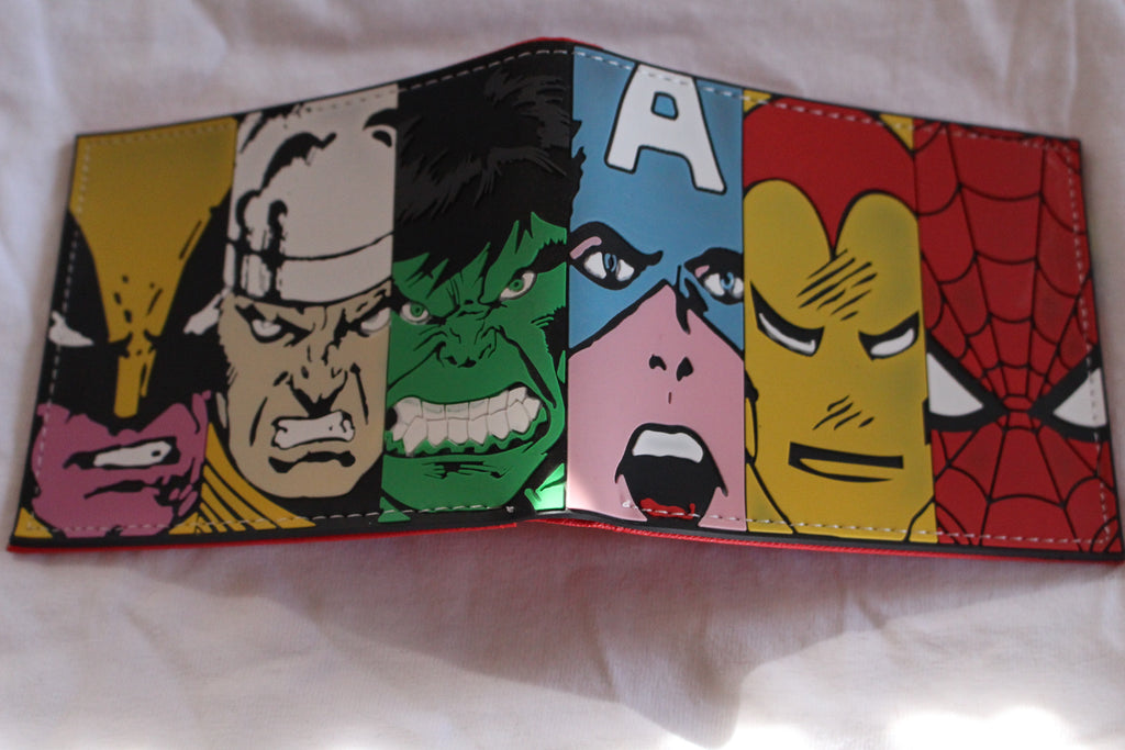 Character Wallet - Avengers Group