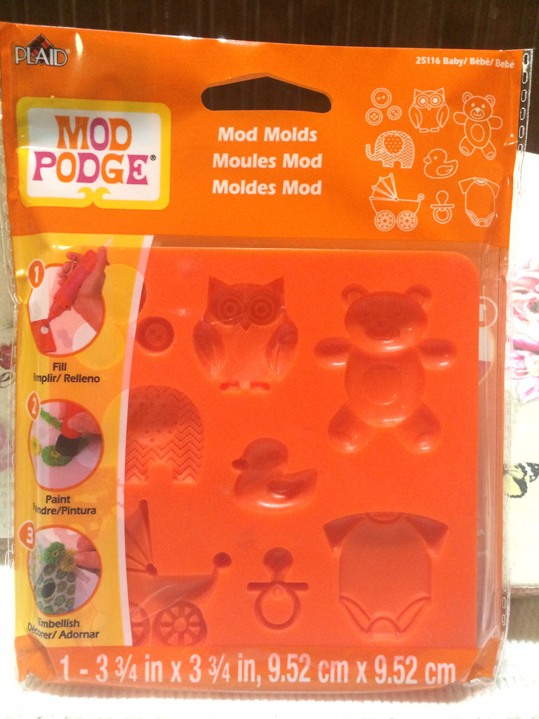 Mod Podge Mod Melt Silicon Mould - Baby