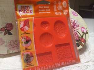Mod Podge Mod Melt Silicon Mould - Patterns - I'm A Craftaholic