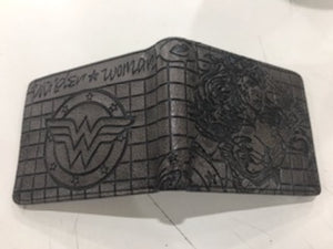Character Wallet - Wonder Woman Embossed