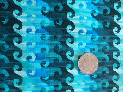 Calypso Waves Quilting Cotton