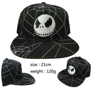 Jack Skeleton Nightmare Before Christmas Baseball Cap