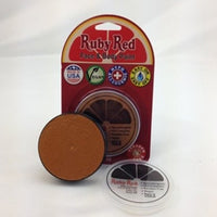 Professional Vegan Ruby Red Face Paint - Copper