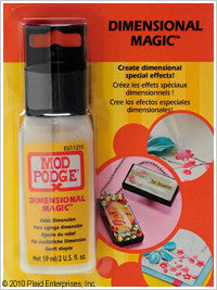 Mod Podge Dimensional Magic - I'm A Craftaholic