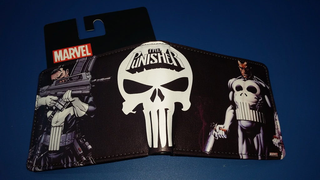 Character Wallet - Marvel Punisher - I'm A Craftaholic