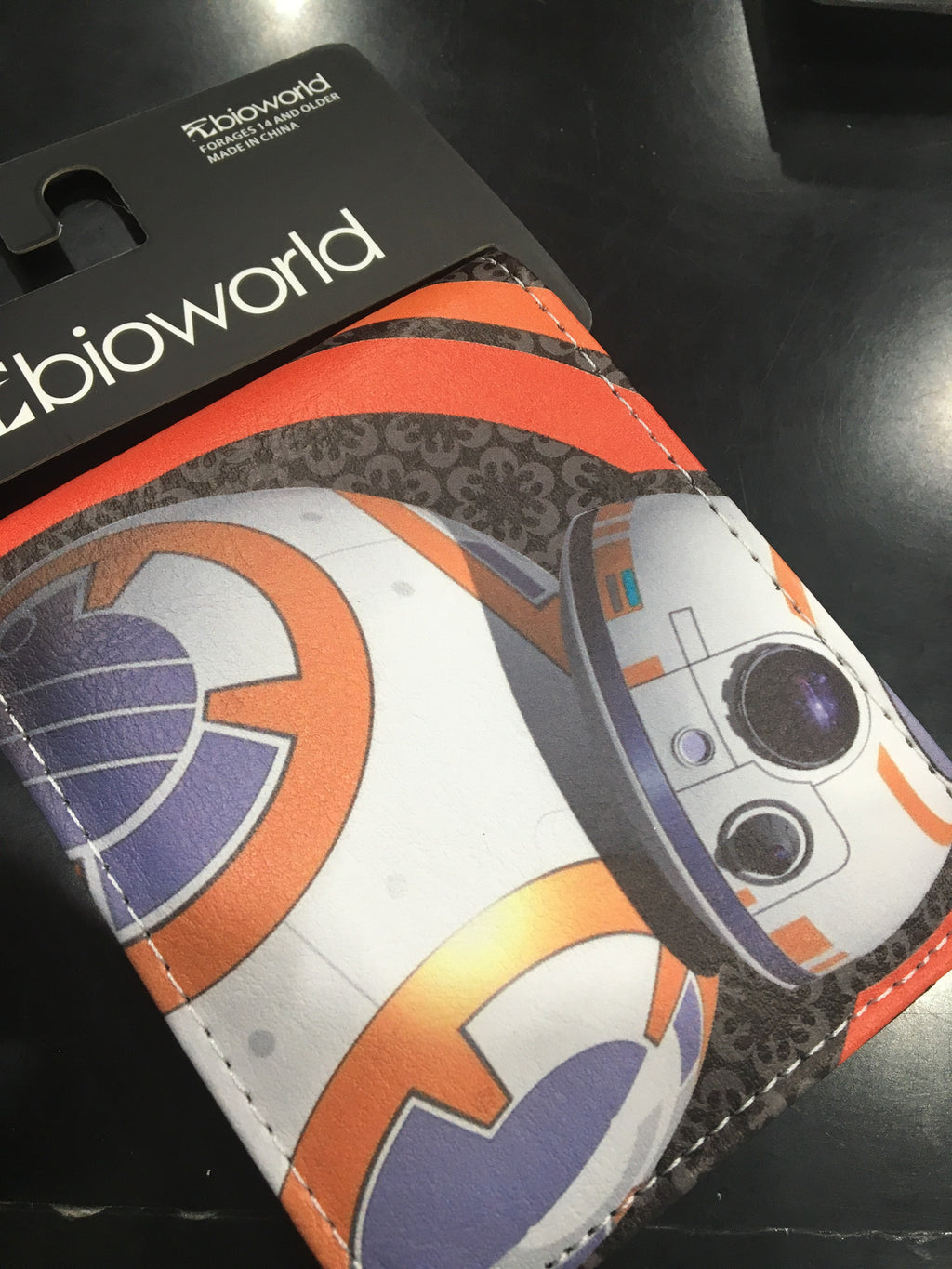 Character Wallet - Star Wars BB8 Wallet - I'm A Craftaholic