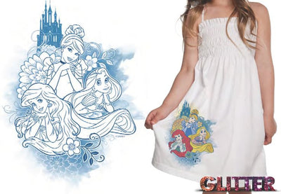 Disney Princess UV Colour Changing Dress - I'm A Craftaholic