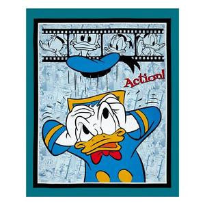 Disney Donald Duck Panel Cotton Fabric