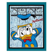 Disney Donald Duck Panel Cotton Fabric - I'm A Craftaholic