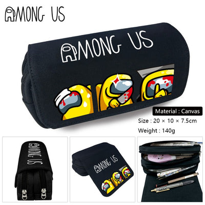 Among Us  Canvas Pencil or Accessories Bag