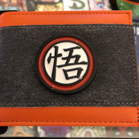 Character  Wallet - Dragon Ball Z Metal Badge
