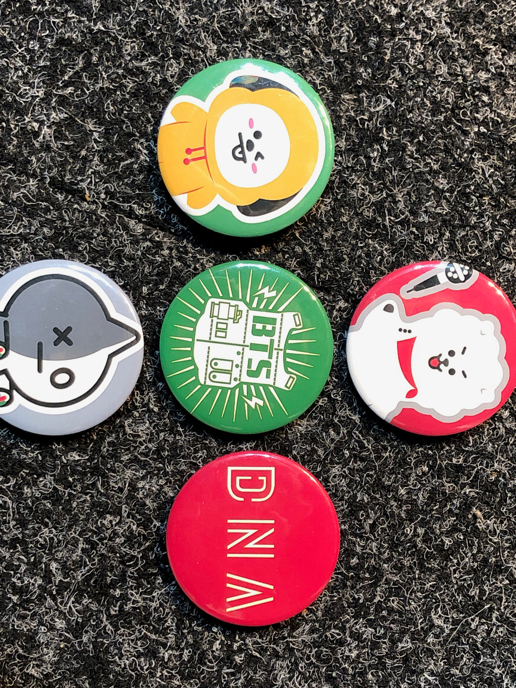 BTS badges