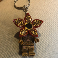 Stranger Things Demogorgan Lego  Style Keyring