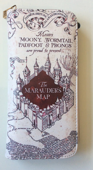 Character Purse- Harry Potter Marauders Map