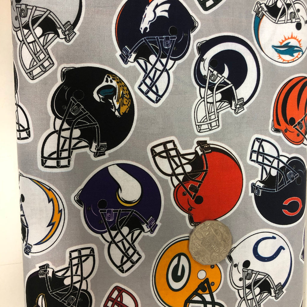 American Football Helmets Quilting Cotton Fabric