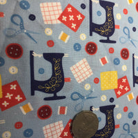 Love of Sewing Quilting Cotton Fabric
