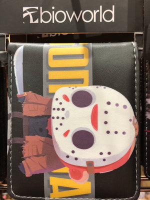 Character Wallet -  Friday the 13th Jason kawaii*