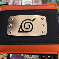Character  Wallet - Naruto Metal Badge