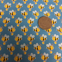 Honey Bees Quilting Cotton