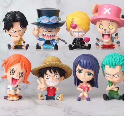 Anime PVC Loose Figurines One Piece