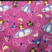 Disney Princess Sofia the First and Friends Cotton Fabric - I'm A Craftaholic
