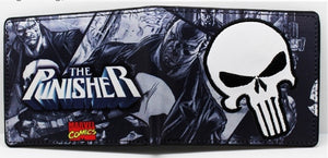 Character Wallet - Marvel Punisher Skull