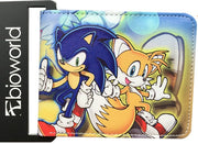 Character Wallet - Sonic Hedgehog and Tails